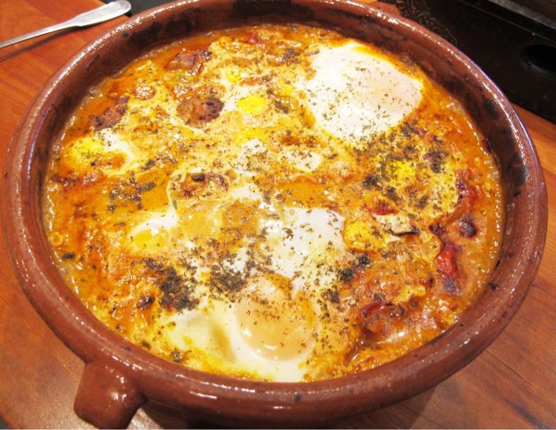 1 015 - Shakshuka – Nord-afrikanske kjøttboller med krydret saus og egg