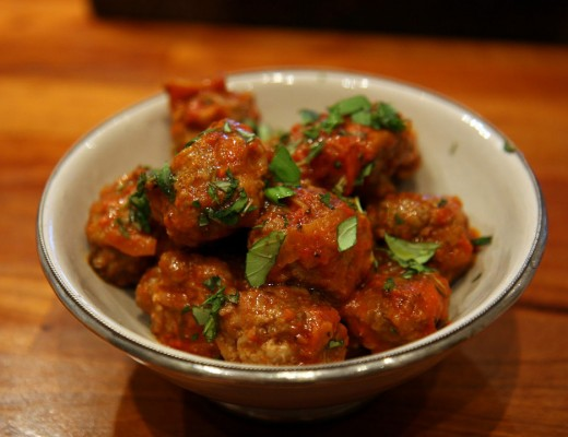 kjøttboller 520x400 - Kjøttboller til tapas eller pasta