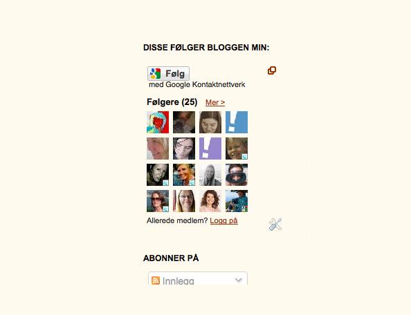 blogger - Hobbykokkene