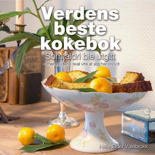 kokebok - På topp 10-listen til Tronsmo bokhandel