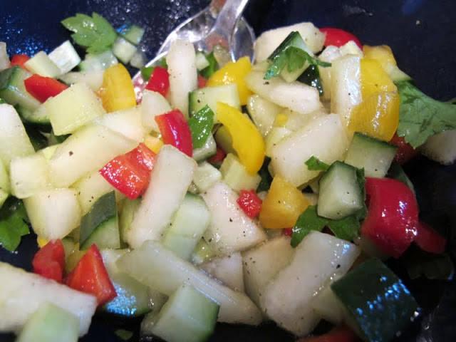 melonsalat - Frisk sommersalat med melon