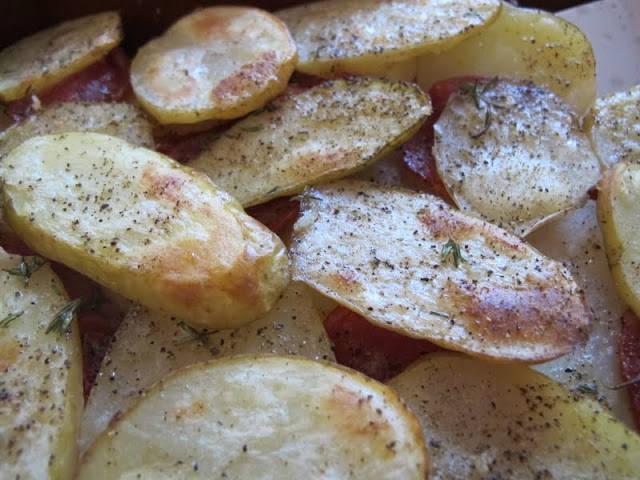potetermedchorizo - poteter med chorizo
