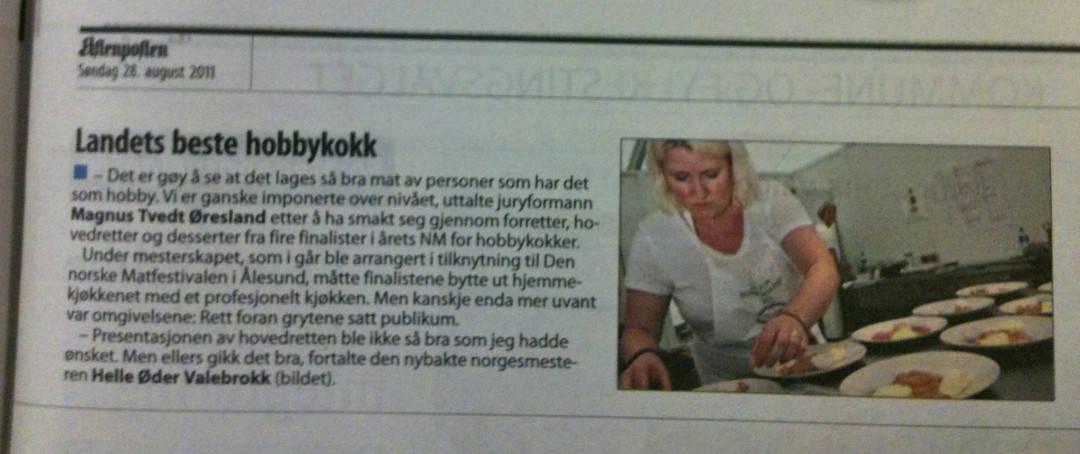 Aftenposten 28. august 2011
