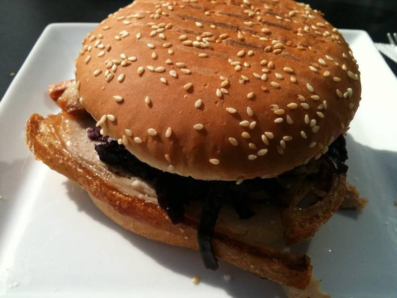 761 - Flæskestegburger