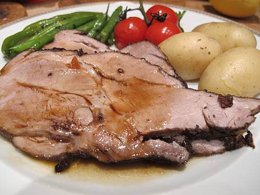 svinenakke2 - svinenakke med tapenade