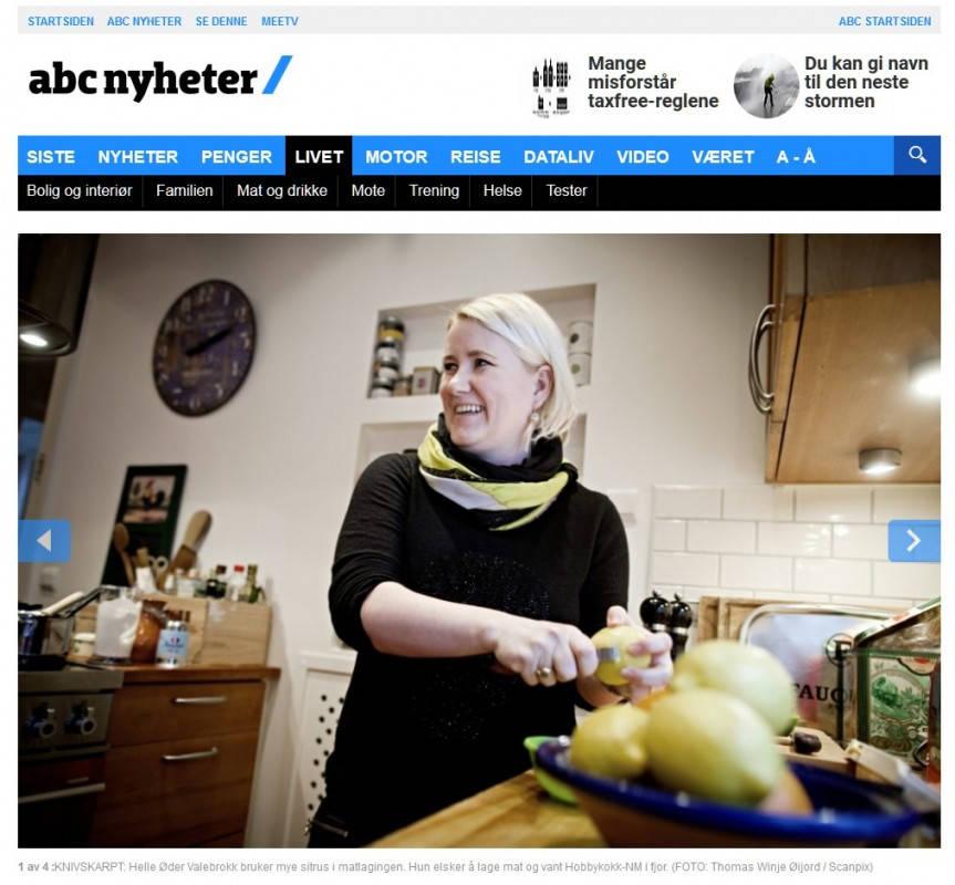 abc 2012 01 - Artikkelen om meg og kjøkkenutstyr
