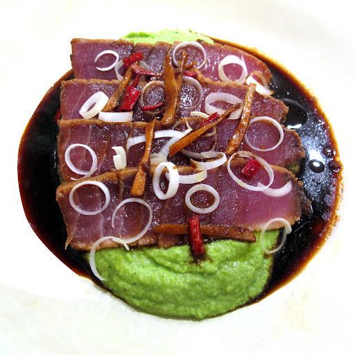 img 57972 - Marinert tunfiskbiff med erte- og brokkolipuré