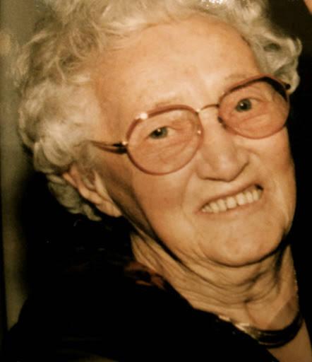 Dagmar Øder Larsen fra mitt bryllup i 1997. Hun døde for ca 10 år siden.