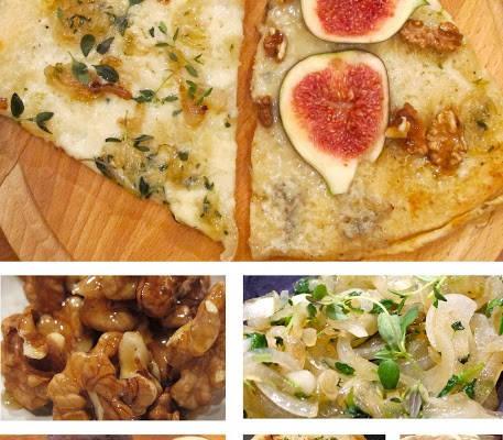 pizza2 457x400 - To i en! Pizza til middag og pizza til dessert.