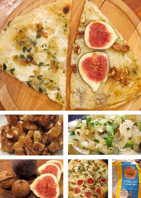 pizza2 - To i en! Pizza til middag og pizza til dessert.