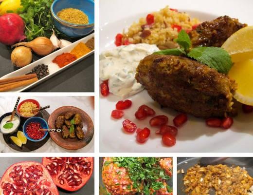 krydredekjc3b8ttboller 520x400 - Lammekjøttkaker med mandelbulgur, myntedressing og granateple