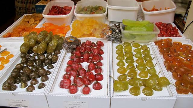 Kandiserte frukter fra Cafes Verlet, St. Honoré.