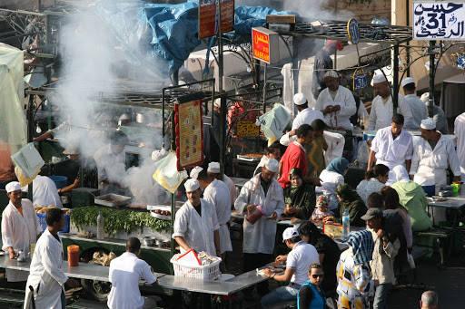 img 97362 - Djemaa El-Fna – Livlig matmarked i Marrakech