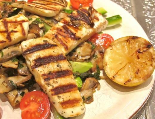 img 8136 520x400 - Grillet haloumi-salat