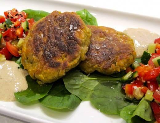 img 8481 520x400 - Falafel med deilig salat