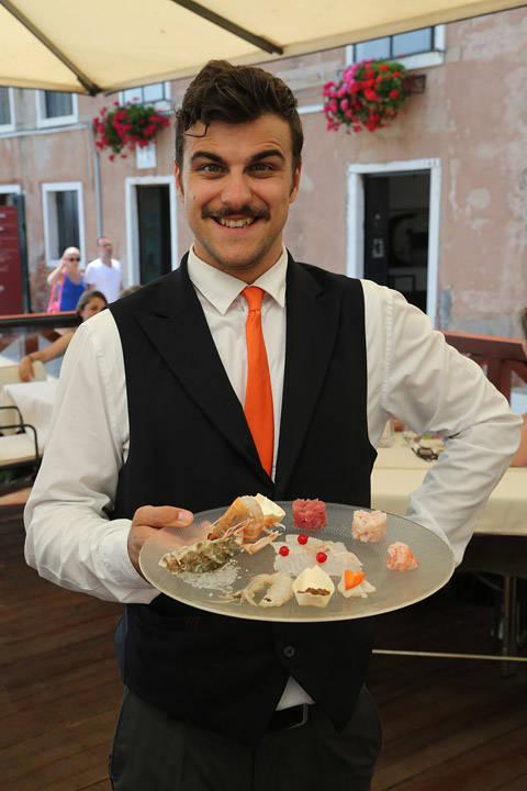 En herlig kelner!