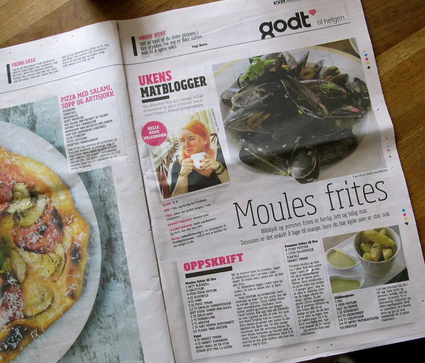 ukens matblogger i VG