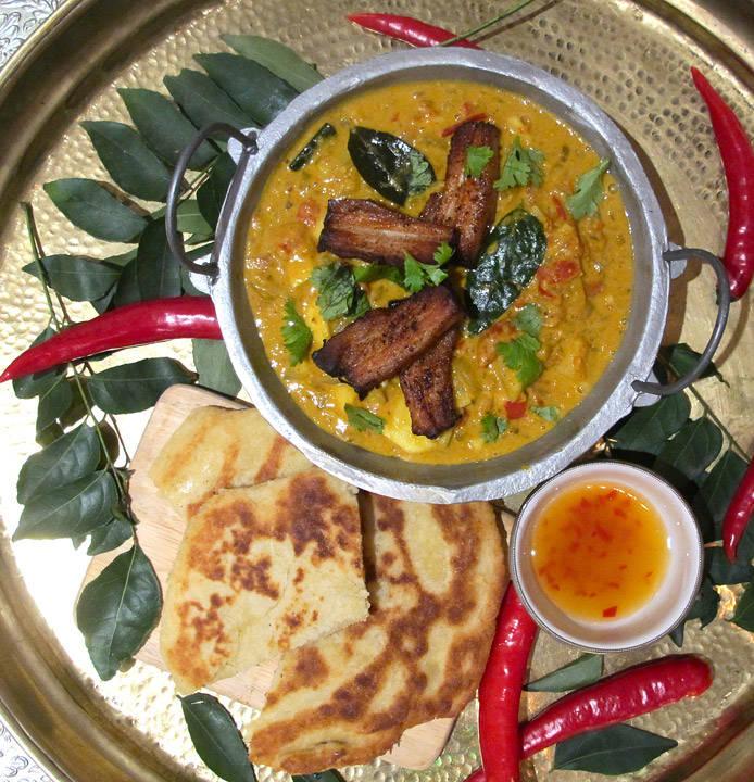 herlig sør-indisk mat