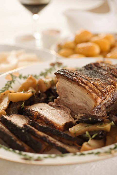 jmn 8464 - Danskinspirert ribbe med brunede poteter