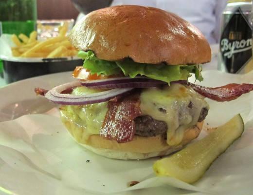 Herlig Byron-burger!