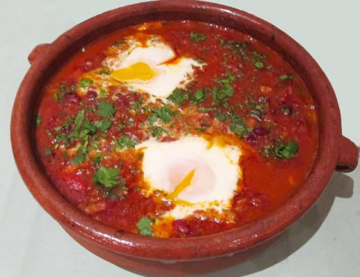 Chili con carne med egg