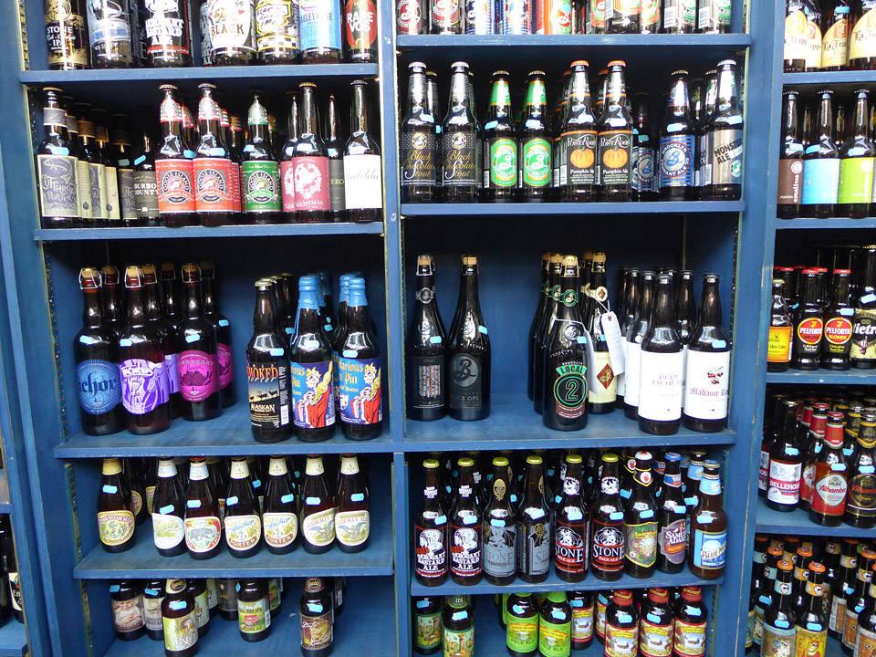 Her vil ølinteresserte finne flasker de aldri har smakt før. Garantert!