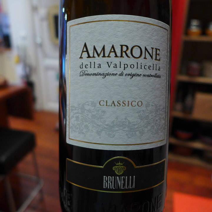 Amarone. En god Chianti Classico hadde fungert best.