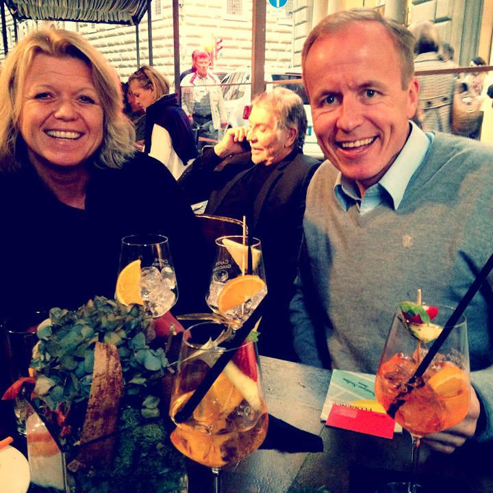 Marit og Lars med Cavalli i midten!