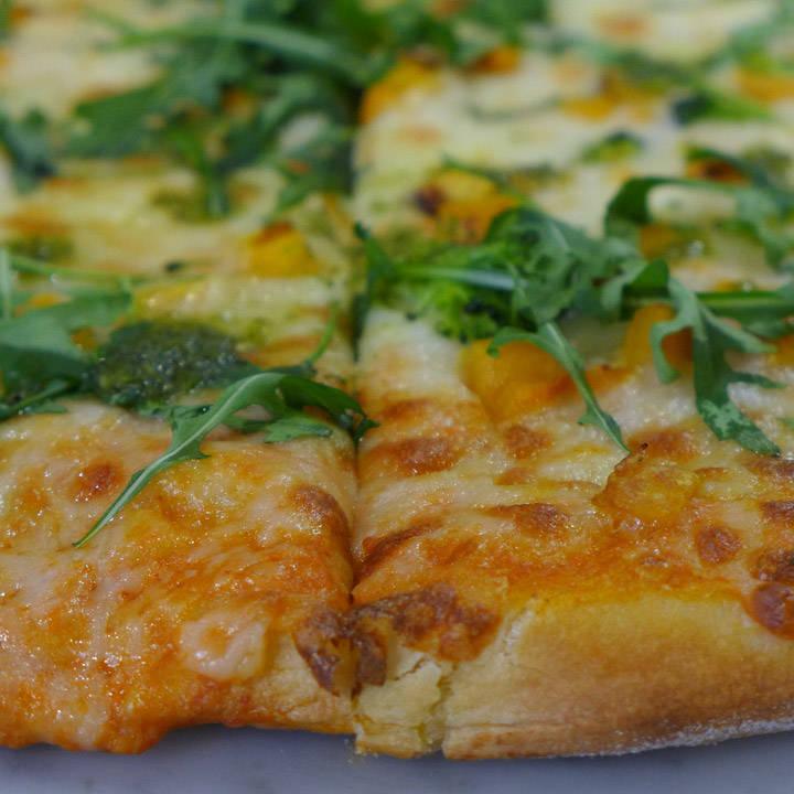 Pizza med vodka-saus