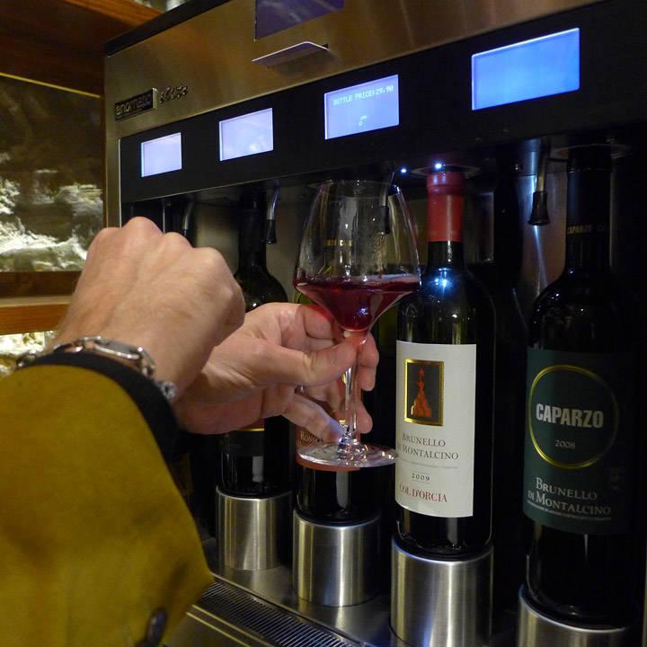 Velge vin og størrelse, så nyte.