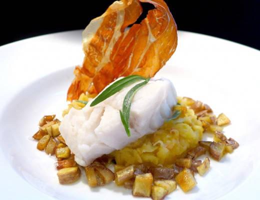 l1020087 520x400 - Gourmetmåltid på 15 minutter: Torsk med eple, potet og norsk spekeskinke