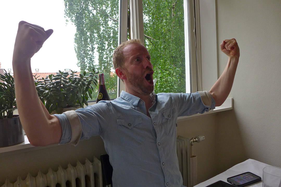 Seiersbrølet kunne høres over hele Tøyen denne søndagen!
