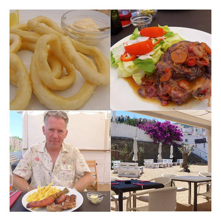 Helt ny restaurant i Cadaques. Ses Hortes – grillsted med store kjøttstykker, svinekjaker, hjemmelagde calamares osv. Veldig billig og veldig bra.
