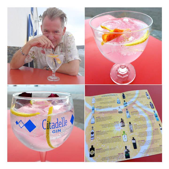 Imponerende gin-utvalg i Cadaques (nord for Barcelona)