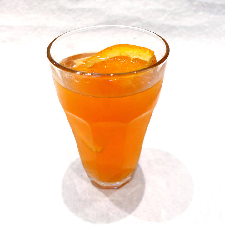Bourbon- og ingefær-Spritz