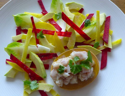 l1030817 520x400 - Ceviche av makrell med betesalat