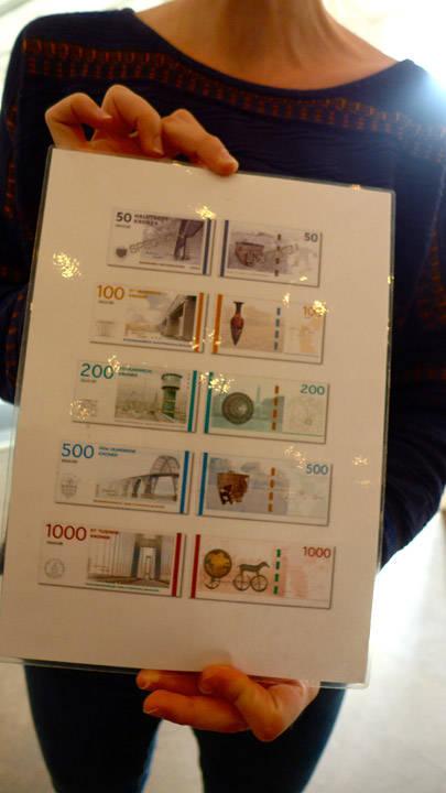 De fem nye sedlene.