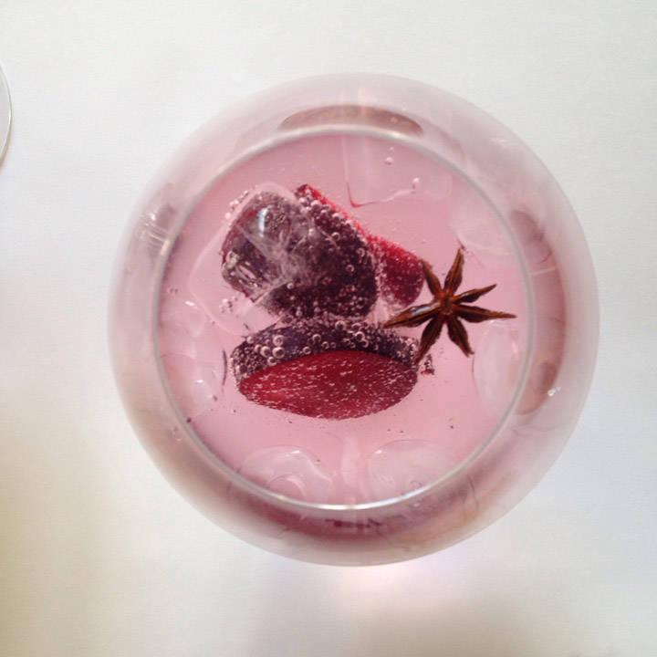 Gin med plomme og stjerneanis