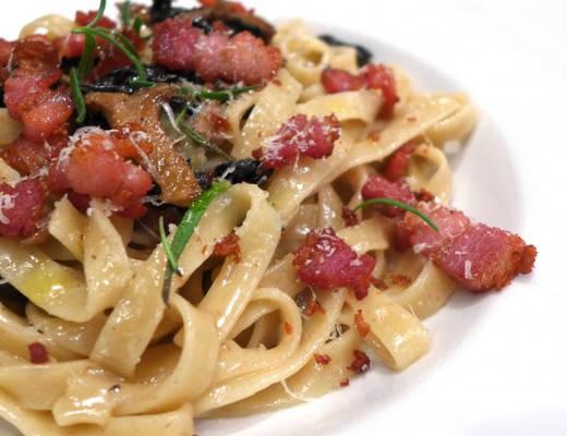 l1060229 520x400 - Pasta med sopp og bacon