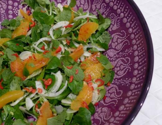 l1070815 520x400 - Salat med vinterens deiligste frukt – nemlig blodappelsinen