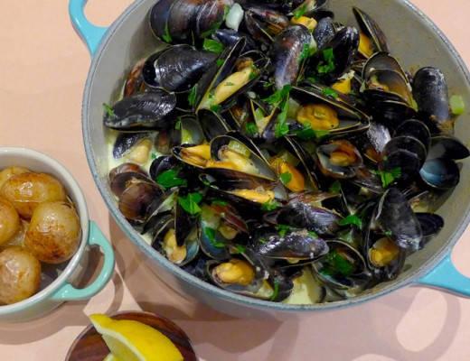 l1070855 520x400 - Fransk fastfood: Blåskjell i kremet karrisaus