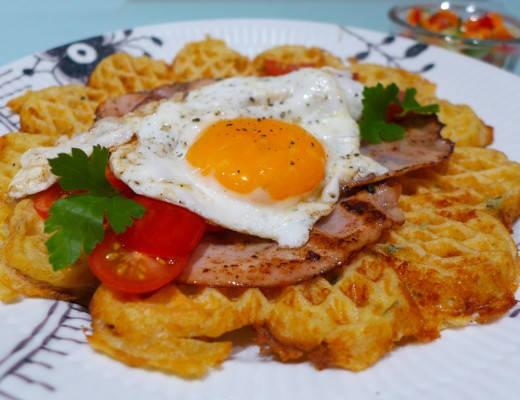 l1090121 520x400 - Ostevaffel med egg og kalkunskinke – den perfekte helgefrokosten