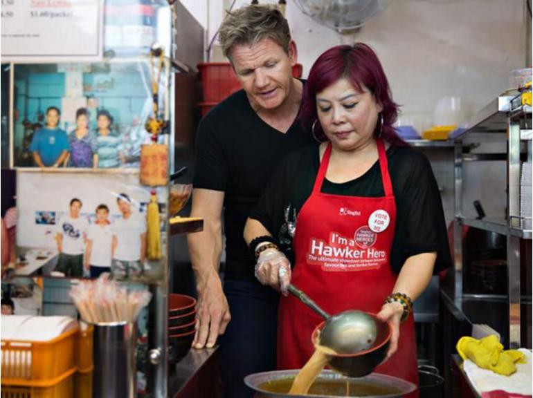 Bildet er fra hungrygowhere.com Gordon og Lucy Lim