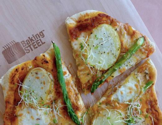 L1110885 520x400 - Vårlig pizza og calzone stekt på Baking Steel