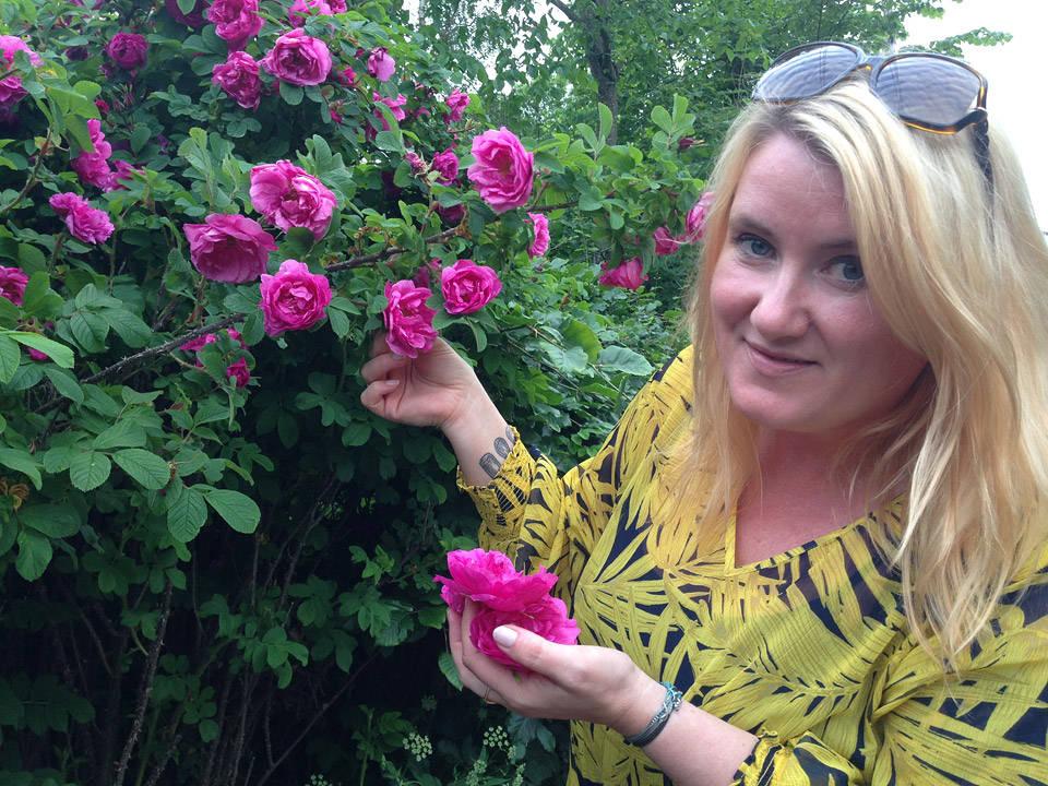Jeg er på roseslang på Ullern i Oslo.