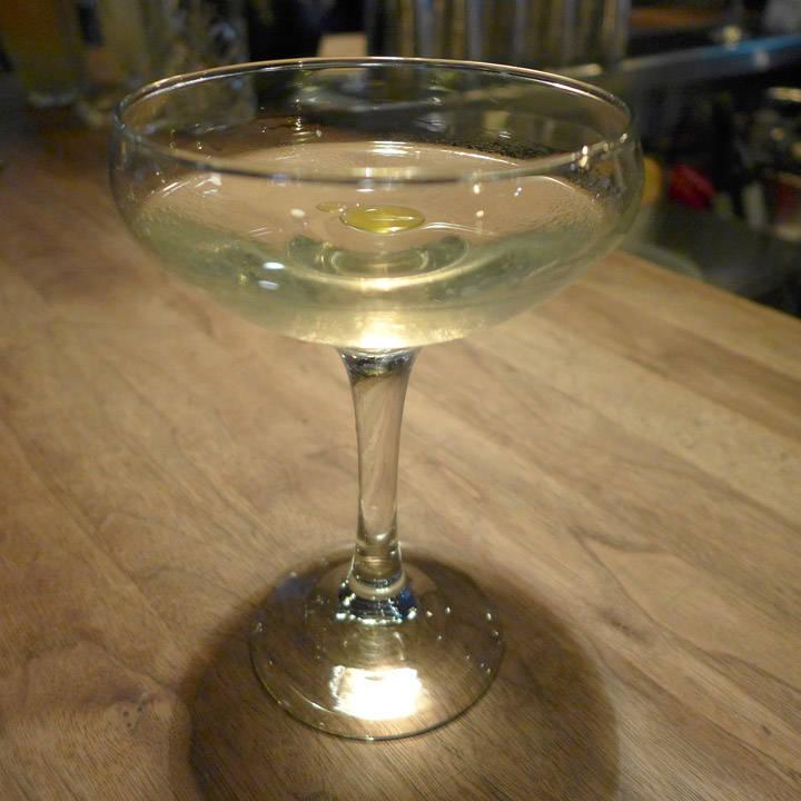 Dry Lavender Martini