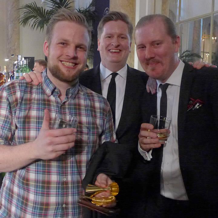 Jørgen Dons sammen norsk World Class-vinner 2014, Jesper Høst og svensk World Class-vinner 2014, Rikard Enell