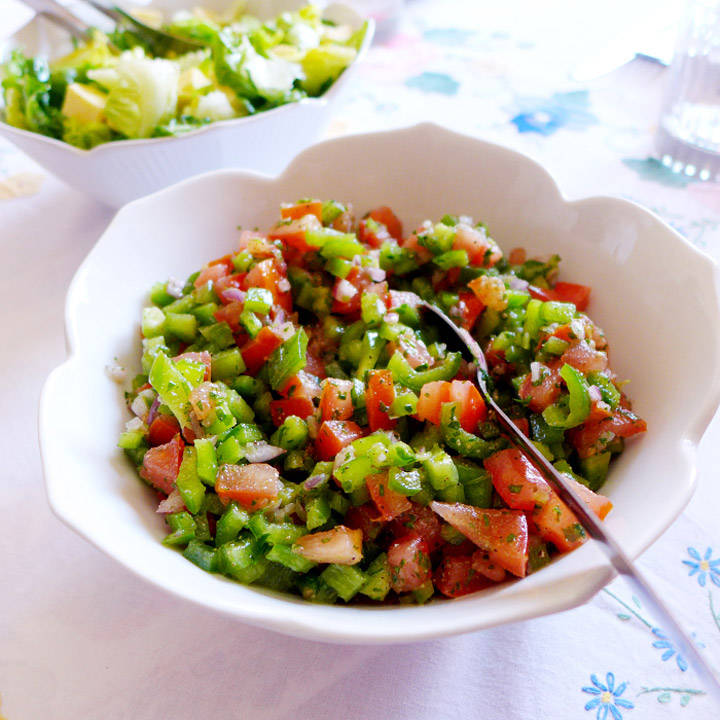 salat - Marokkansk salat
