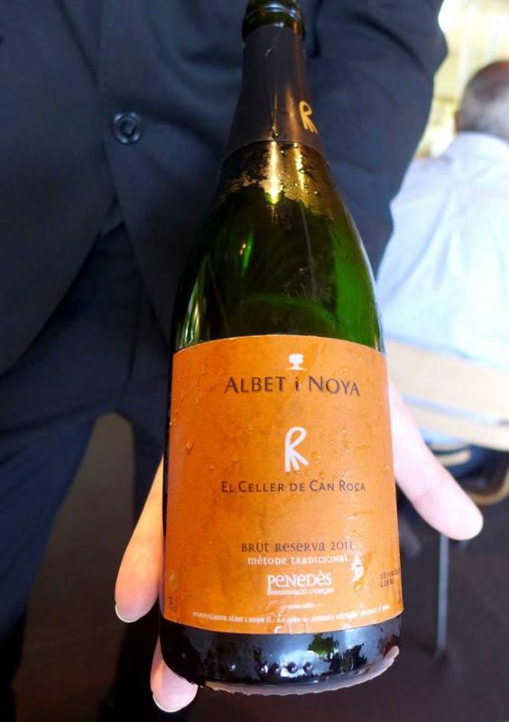 "Albet i Noya ""Classic"" El Celler Brut Rva D.O. Penedés. Spesiallaget cava for restauranten."