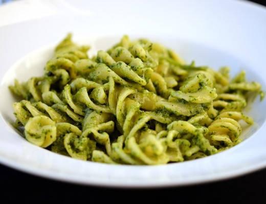 DSCF0373 520x400 - Pasta med hjemmelaget pesto